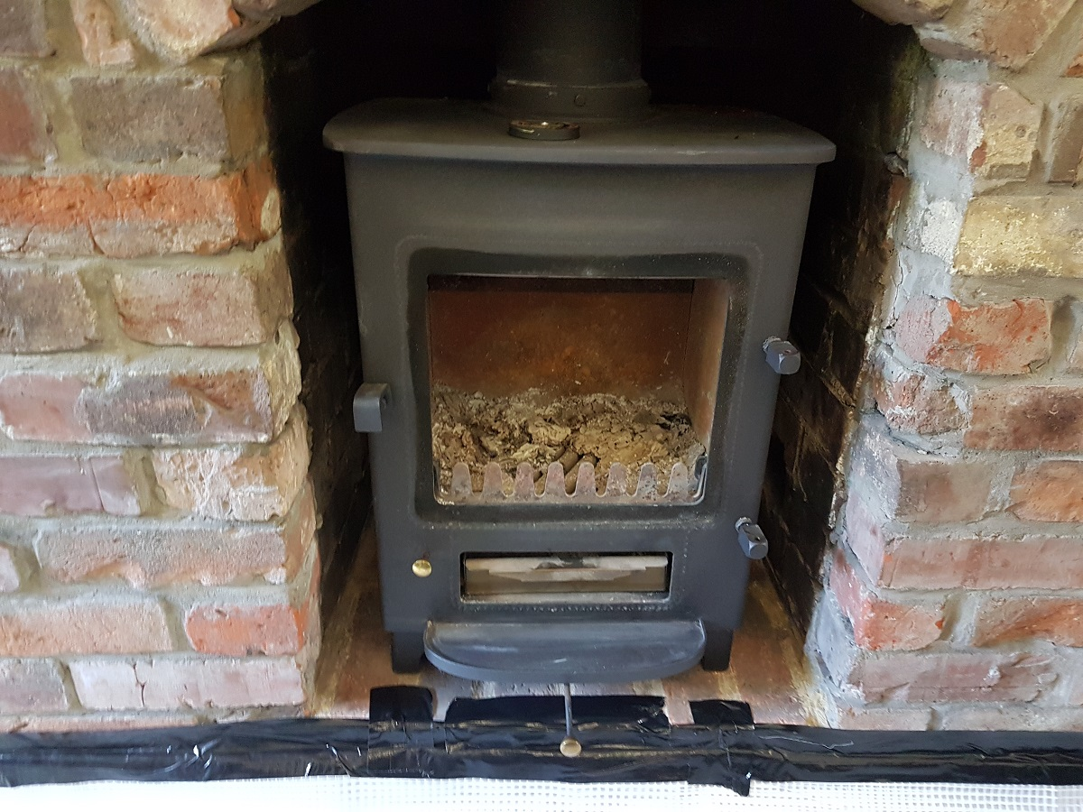 Clearview Wood Burner