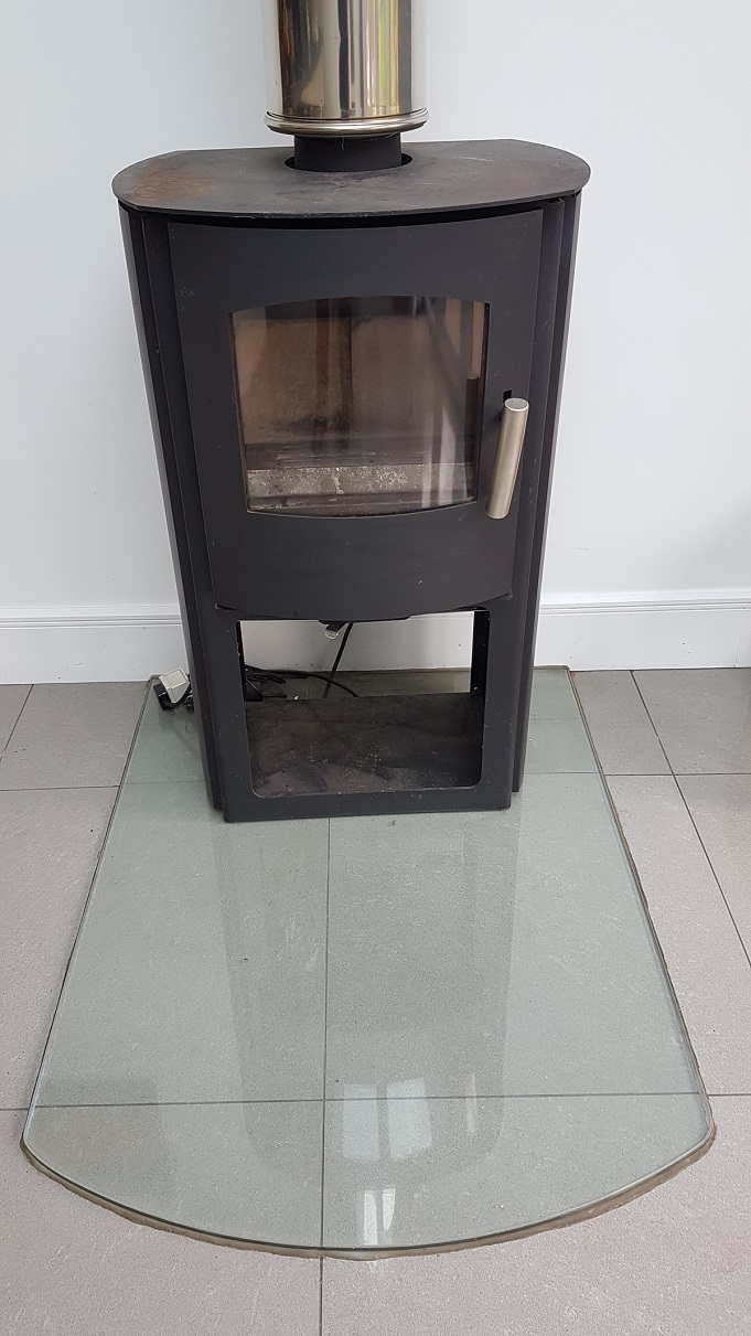 Lined wood burner